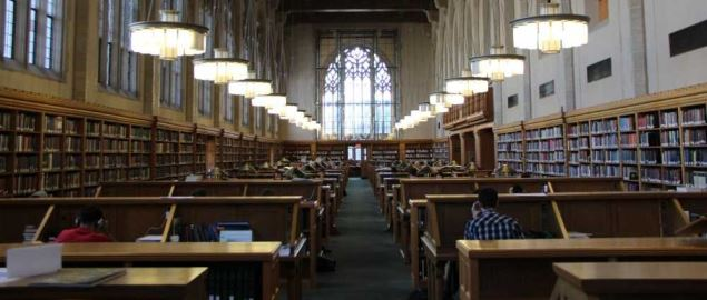 Yale University Lillian Goldman law library